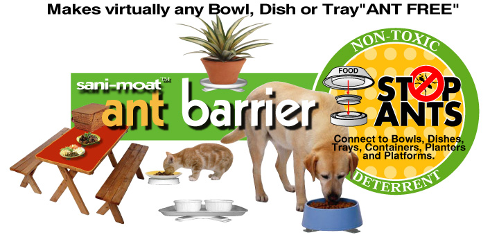 Ant Ant Barrier Ant Free Pet Dish Ant Proof Pet Bowl Ant